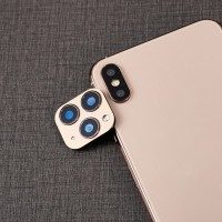 Second Change Lens Cover For Iphone X To 11 Pro - Golden