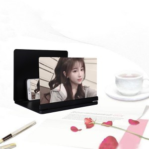 14 Inch High Quality  Mobile Phone 9D HD Screen Magnifier - Black