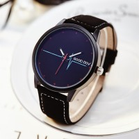 Ladies Belt Fashion Casual Quartz Watch - Black Blue