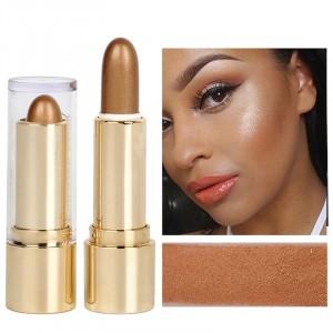 Women 3D Stick Makeup Eye Silkworm Highlighter 03 - Brown