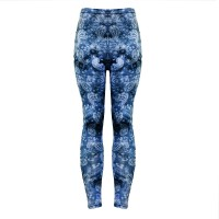 Fancy Printed Style Stretchable Narrow Bottom Trouser - Blue