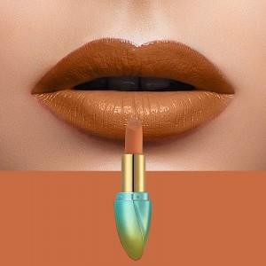 Solid Color Waterproof Long Lasting Hydrating Lipstick 02 - Orange