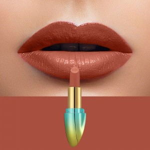 Solid Color Waterproof Long Lasting Hydrating Lipstick 06 - Light Red