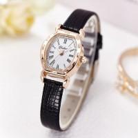 Fashion Yound Ladies Quartz Watch - Black Gold