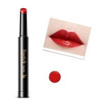 Waterproof Long Lasting Flower Velvet Hydrating Lipstick SD08 - Cherry Red