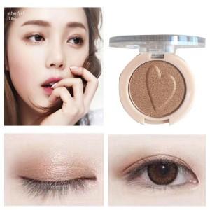 Pearlescent Monochrome High Gloss Eyeshadow Matte 04 - Light Brown