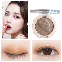 Pearlescent Monochrome High Gloss Eyeshadow Matte 08 - Coffee Brown
