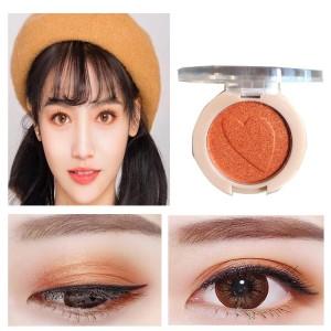 Pearlescent Monochrome High Gloss Eyeshadow Matte 09 - Orange