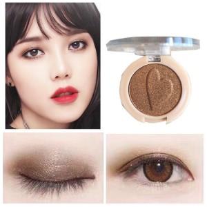 Pearlescent Monochrome High Gloss Eyeshadow Matte 11 - Coffee