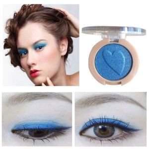 Pearlescent Monochrome High Gloss Eyeshadow Matte 14 - Blue