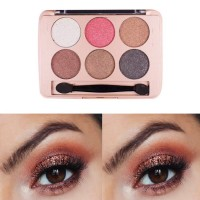 Solid Sex Color Pearly Matte Eyeshadow Makeup Palette 04 - Coffee Brown