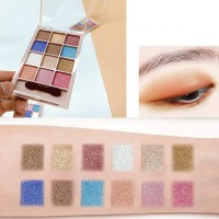 12 Colors Pearly Matte Eyeshadow Makeup Palette 03 - Multicolor
