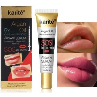 Enhancer Booster Bigger Lips Plumper Serum Moisturizing Oil Gloss - Multicolor