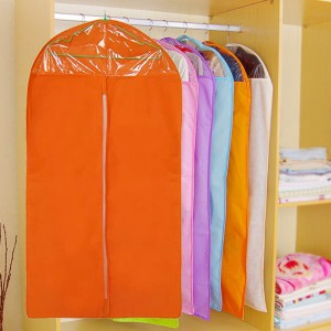1 Piece Plus Larger Size Dust Proof Suit Clothes Protector Cover - Orange