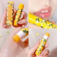 Long Lasting Moisturizing Fruity Flavor Dead Skin Lip Balm 03 - Lemon