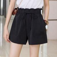 Fashion Loose Comfortable Casual Shorts Pants - Black