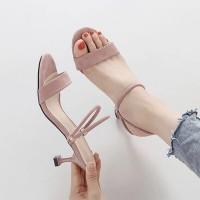 Trendy Fashion Double Strap Casual Wear Women Sandal - Pink