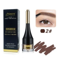 Long Lasting Waterproof Natural Eyebrow Color With Brush 02 - Coffee