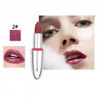 Long Lasting Waterproof Natural Color Lipstick 02 - Dark Purple