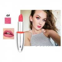Long Lasting Waterproof Natural Color Lipstick 04 - Light Red