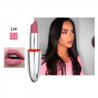 Long Lasting Waterproof Natural Color Lipstick 12 - Pink