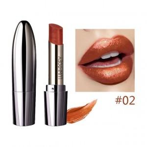 Waterproof Long Lasting Shimmer Glitter Lipstick 02 - Red