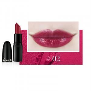 Long Lasting Waterproof Moisturizer Foggy Lipstick 02 - Cherry Red
