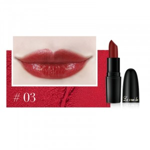 Long Lasting Waterproof Moisturizer Foggy Lipstick 03 - Apple Red