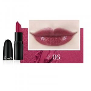 Long Lasting Waterproof Moisturizer Foggy Lipstick 06 - Dark Purple