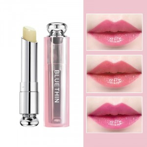 Long Lasting Natural Temperature Change Color Moisturizing Lipstick - Pink