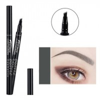 Four Headed Extremely Long Lasting Waterproof Eyebrow Pencil 03 - Dark Gray