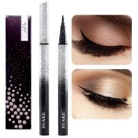 Waterproof Quick Dry Natural Liquid Eyeliner Pencil - Black