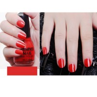 Candy Colors Waterproof Full Cover Nail Polish 10 - Red