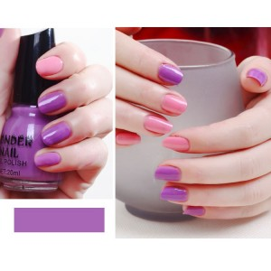 Candy Colors Waterproof Full Cover Nail Polish 29 - Purple