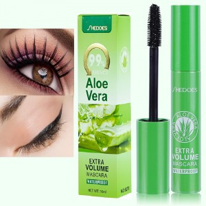 99% Aloe Vera Long Lasting Waterproof Eyelash Mascara - Black