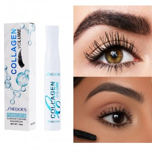 Long Lasting Waterproof Eyelash Mascara - Black