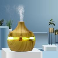 Color Changing Usb Power Humidifier Luminous Aroma Diffuser - Khaki