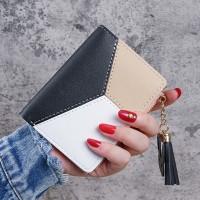 Multi Function Zipper Closure Mini Card Wallet Holder