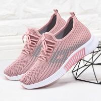 Sports Women Fashion Light Wear Running Sneakers - Pink