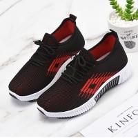 Sports Women Fashion Light Wear Running Sneakers - Red