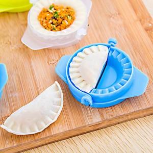 Easy Convenient Kitchen Dumpling Tools Maker - Blue