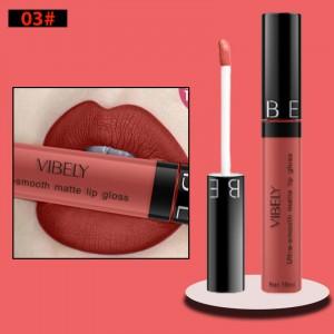 Non Fading Womens Fashion Retro Matte Lip Gloss #3