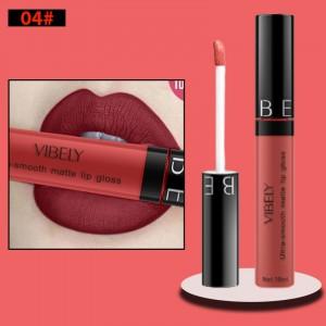 Non Fading Womens Fashion Retro Matte Lip Gloss #4