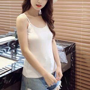Women Casual Wear Cotton Fabric Top T Shirt - White