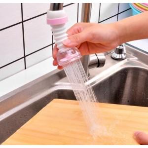 Water Saving 360 Degree Rotatable Water Filter Faucet  - Pink
