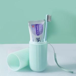 Portable Travel Toothbrush Paste Storage Box - Sea Green