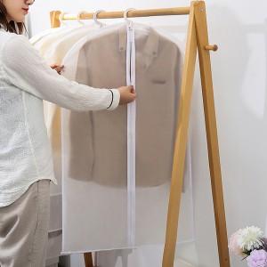 1Pcs Nonwoven Clothes Coat Dust Cover - White