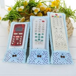 3 PCs Fashion TV AC Universal Remote Control Case Covers - Blue