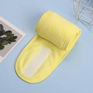Soft Durable Closure Velcro Face Wash Wrap Towel Tape