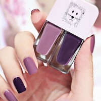 Water Proof High Quality Nail Polish - Dark Purple